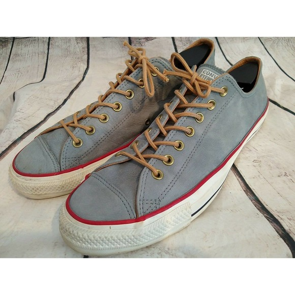 CONVERSE All Star Gray Suede  Sneakers Men…